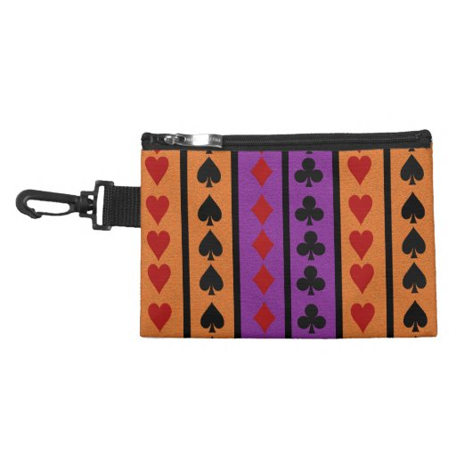 Bolso del accesorio del jugador de tarjeta