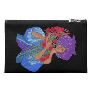 """Bolso del accesorio del viaje de la """"violeta afric"""