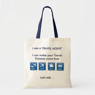 Bolso del agente de viajes bolsas de mano