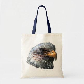 Bolso del águila calva del vintage bolsa tela barata