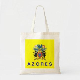 Bolso del algodón de la bandera de Azores Azores