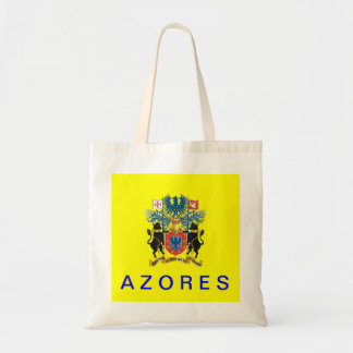 Bolso del algodón de la bandera de Azores Azores Bolsa Tela Barata