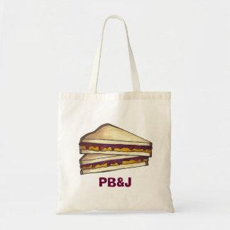 Bolso del almuerzo escolar del bocadillo de la bolsa tela barata