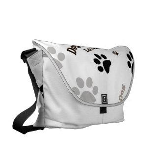 Bolso del amante del perro bolsas de mensajeria