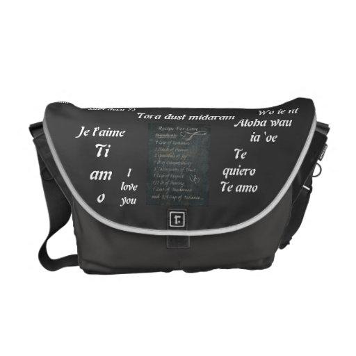 bolso del amor bolsas de mensajeria