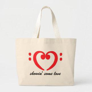bolso del amor del bajista bolsas de mano