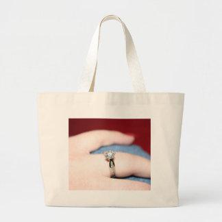 Bolso del anillo de bodas - personalizable bolsa