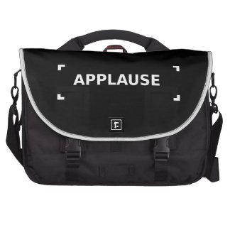 Bolso del aplauso bolsas para ordenador