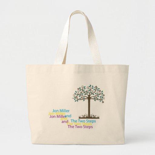 Bolso del árbol bolsa tela grande