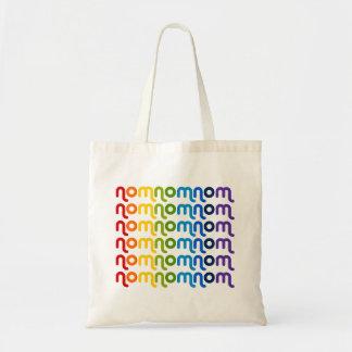 Bolso del arco iris de NomNomNom Bolsa Tela Barata