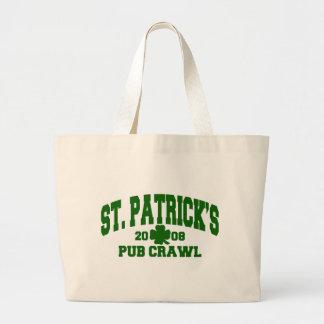 Bolso del arrastre del Pub de St Patrick 2008 Bolsa