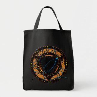 Bolso del arte 1 de la runa bolsa tela para la compra