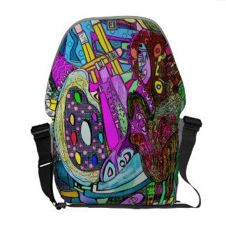 Bolso del artista de la tierra del arte bolsas de mensajería