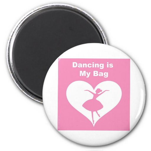 Bolso del baile imán redondo 5 cm