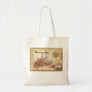 Bolso del barco de vapor del vintage bolsa
