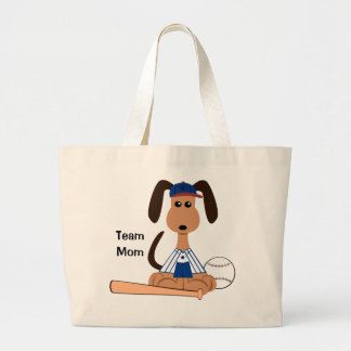 Bolso del béisbol de la mamá del equipo bolsas de mano