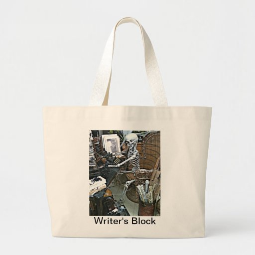 Bolso del bloque del escritor bolsa