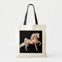 Bolso del caballo de la pintura de Saddlebred del  Bolsas De Mano
