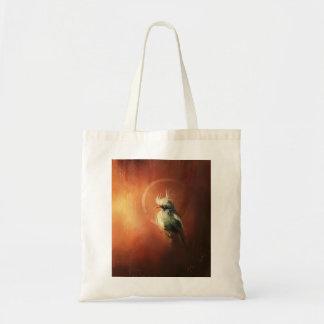 bolso del carácter del pájaro de la fantasía bolsa tela barata
