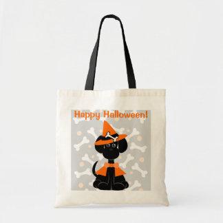 Bolso del caramelo de Halloween - perro de LeiLani Bolsas De Mano
