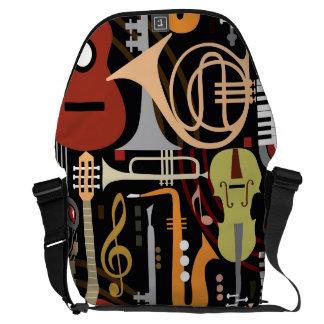 Bolso del carrito del jazz de los instrumentos bolsa de mensajería