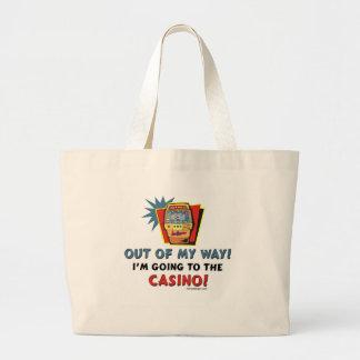 Bolso del casino bolsa tela grande