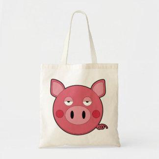 Bolso del cerdo bolsa tela barata