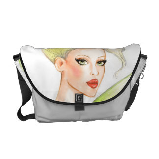 Bolso del chica de la moda bolsas de mensajería