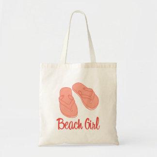 Bolso del chica de la playa bolsa