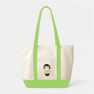 Bolso del chica de los sarong - amarillo claro bolsas de mano