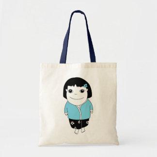 Bolso del chica de los sarong - azul claro bolsa