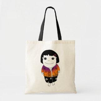 Bolso del chica de los sarong - batik bolsas