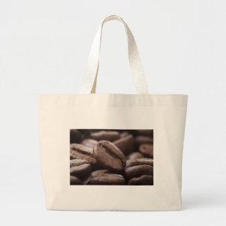 Bolso del cierre del grano de café bolsa tela grande