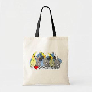 Bolso del Cockatiel de las mutaciones del color