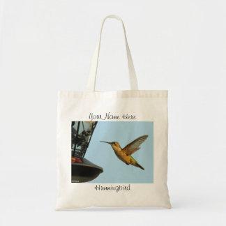 Bolso del colibrí bolsa tela barata