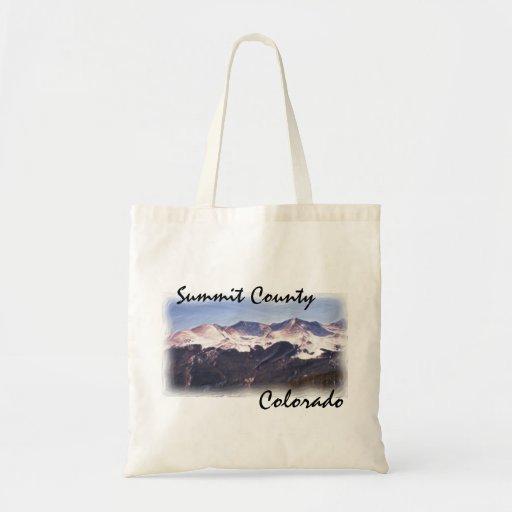 Bolso del condado de Summit Colorado Bolsa