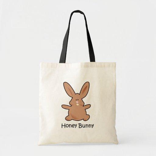 Bolso del conejito de la miel bolsa de mano