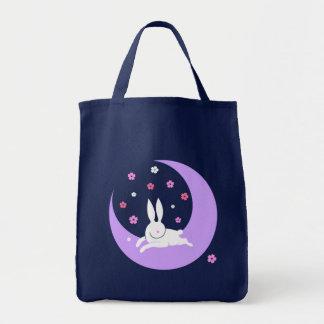 Bolso del conejo de la luna bolsas