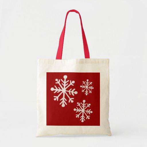 Bolso del copo de nieve bolsas de mano