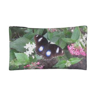 bolso del cosmético de la mariposa