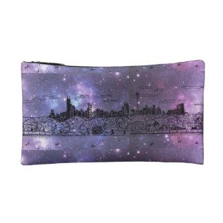 Bolso del cosmético de la nebulosa de Chicago