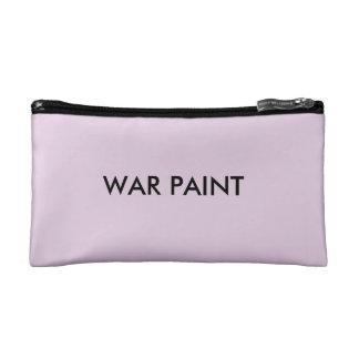 Bolso del cosmético de la pintura de guerra