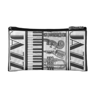 Bolso del cosmético de los instrumentos de música