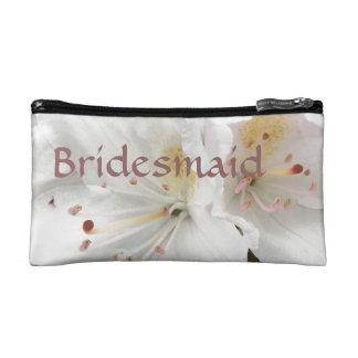 Bolso del cosmético del boda de la dama de honor