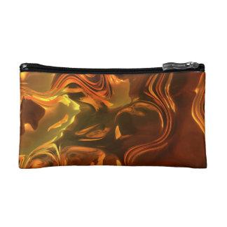 Bolso del cosmético del diseño del arte abstracto