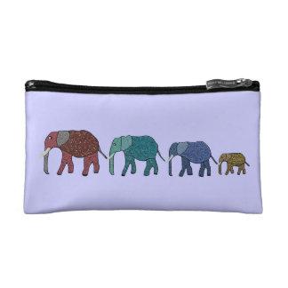 Bolso del cosmético del safari del elefante africa