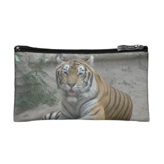 Bolso del cosmético del tigre