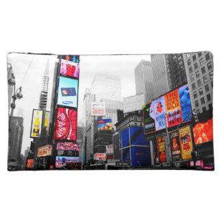 Bolso del cosmético del Times Square