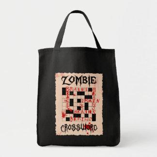 Bolso del crucigrama del zombi