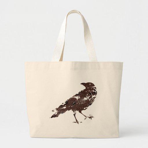 Bolso del cuervo bolsas de mano